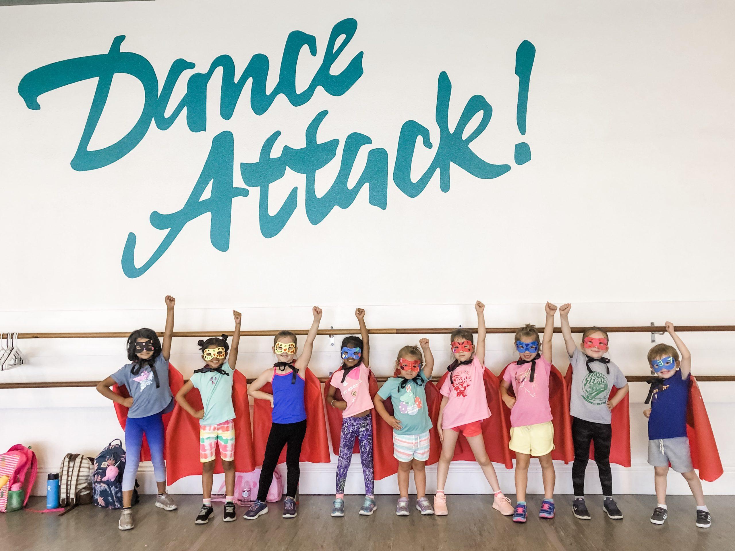 Hip Hop for preschool dancers